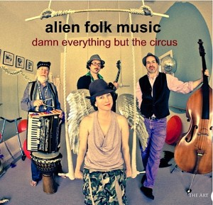 Alien Folk CD cover copy
